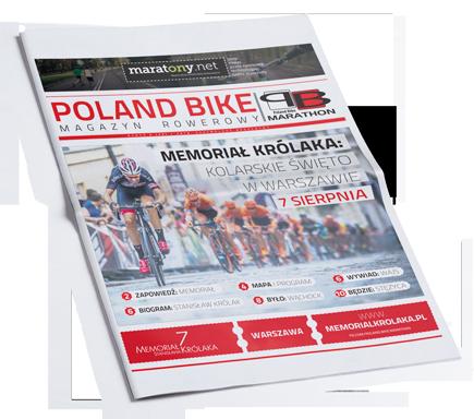 Oficjalna gazeta maratonów rowerowych Lotto Poland Bike